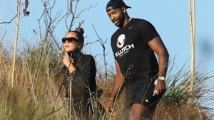 Khloe Kardashian, Tristan Thompson Together Hiking in Malibu