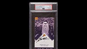 Kobe Bryant Signed Ticket From Last Game Hits Memorabilia Stock Market