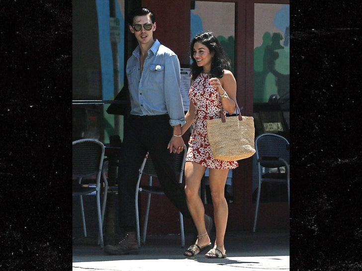 Vanessa Hudgens Strolling with BF Austin Butler the New Elvis Casting