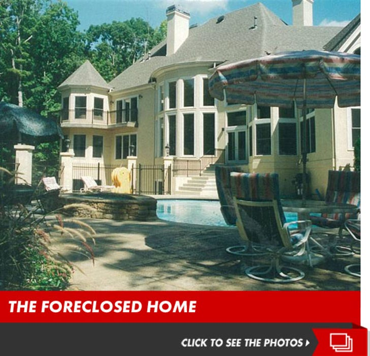 Jamal Anderson's Foreclosed Crib