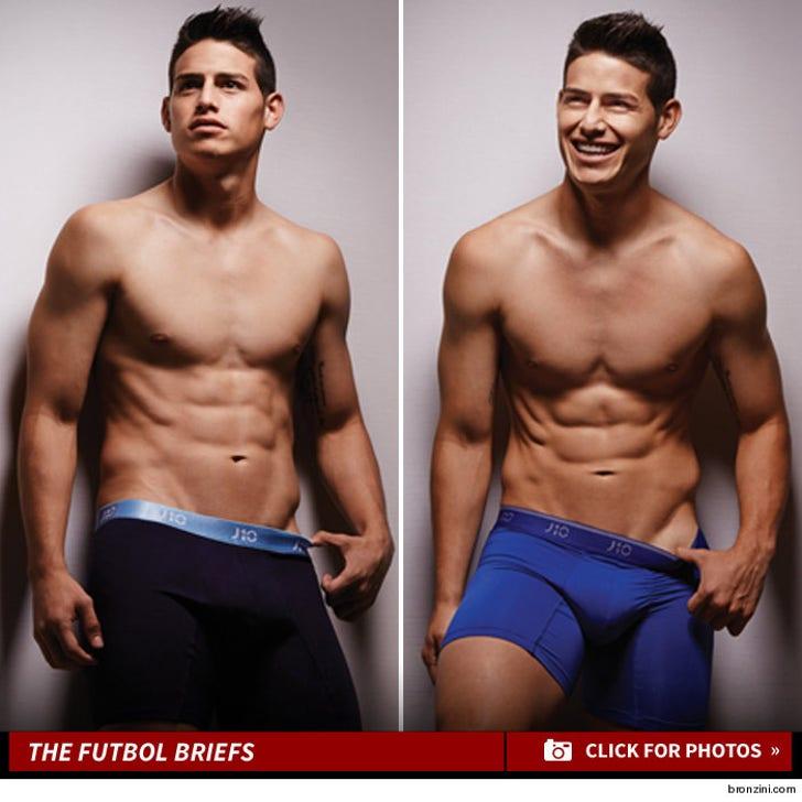 James Rodriguez's Sexy Underwear Photos