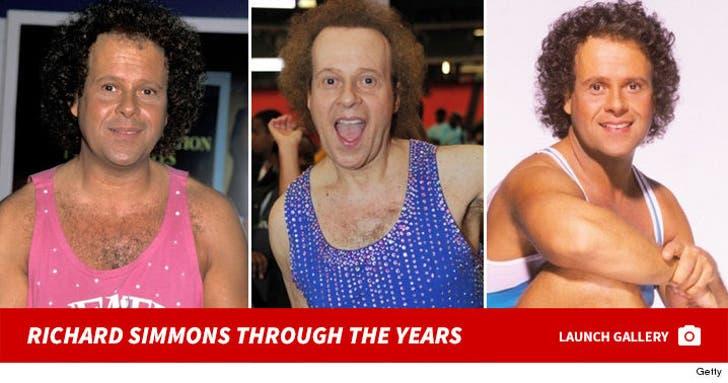 Richard Simmons -- Through The Years