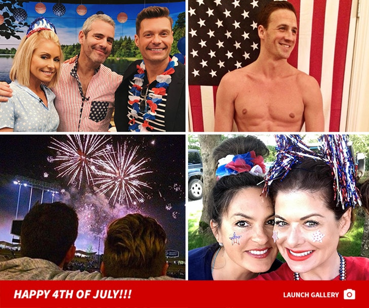 Celebs Celebrate The 4th Of July 2017