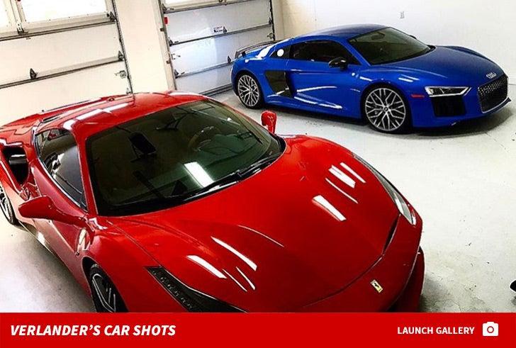 Justin Verlander's Car Shots