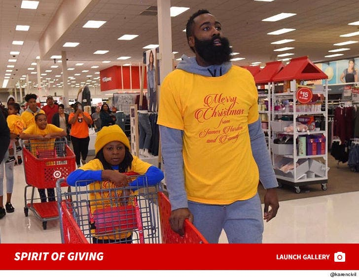 quality design 85878 2038d James Harden Hooked Up 70 Kids with Target Shopping Spree on ...
