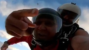 Terry Francona and Cleveland Indians Coaches Jump Out of an Airplane