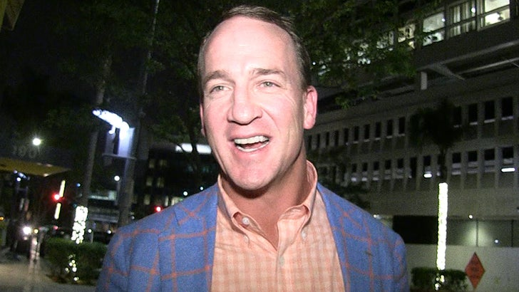 Peyton Manning on Being NFL Exec, 'I Like Being a Fan But We'll See'