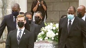 Allen Iverson Served As Pallbearer at John Thompson's Funeral