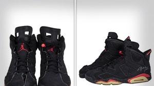 Michael Jordan's Air Jordans from '91 Finals Hit Auction, Expected to Fetch $750k