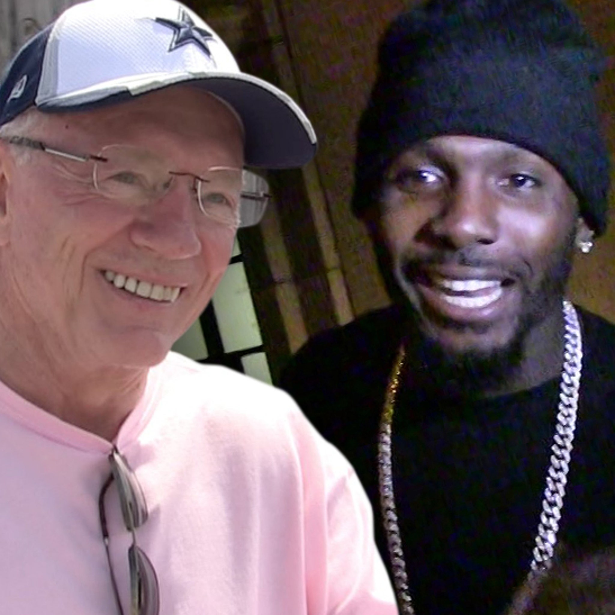 Jerry Jones Says He Didn T Talk Football With Dez Bryant At