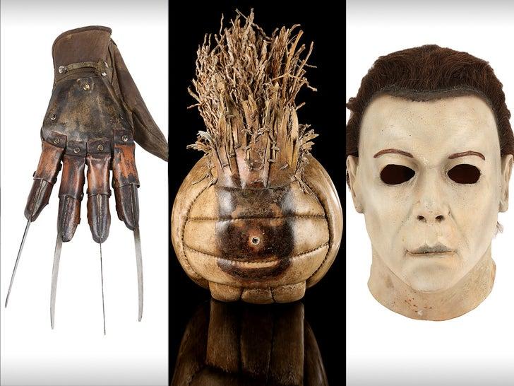 Freddy Krueger's Glove, Michael Myers' Mask Hit Auction Block.jpg