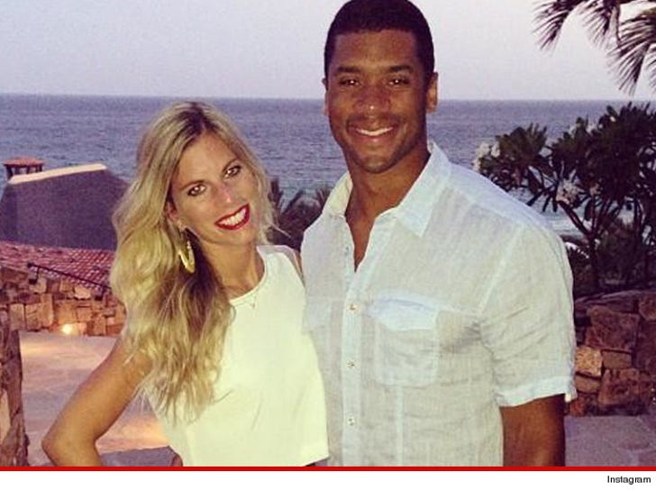Who is russell wilson from the seahawks dating services