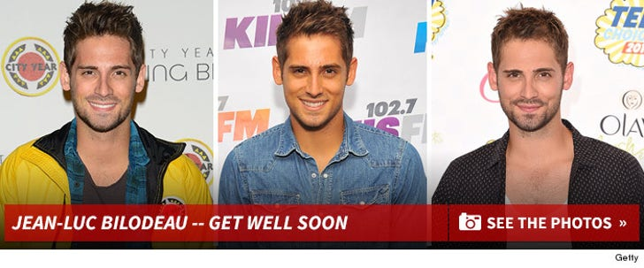 Jean-Luc Bilodeau -- Get Well Soon
