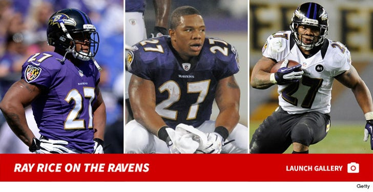 Ray Rice -- On the Field
