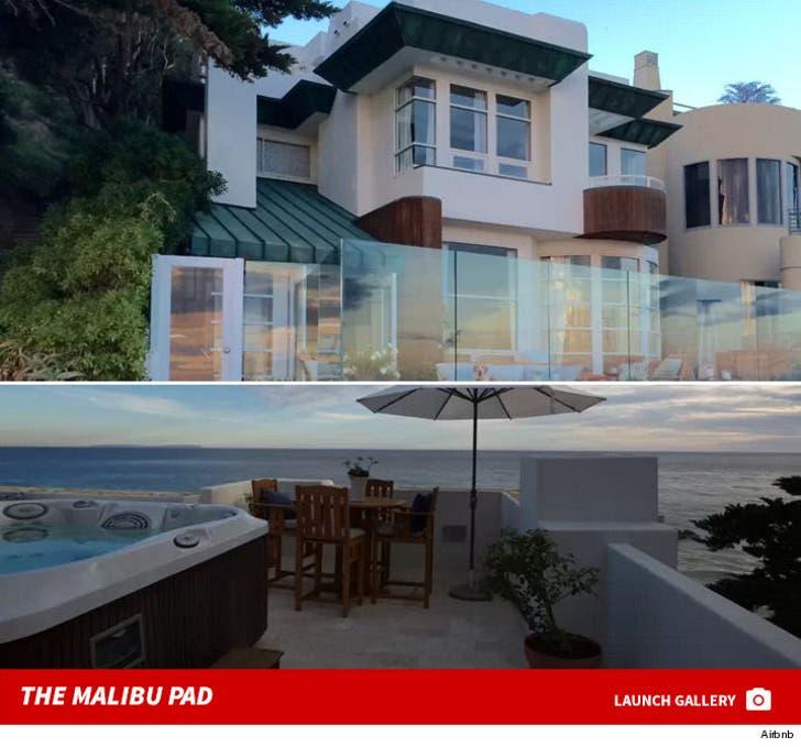 Kendall Jenner's 4th of July Malibu Rental