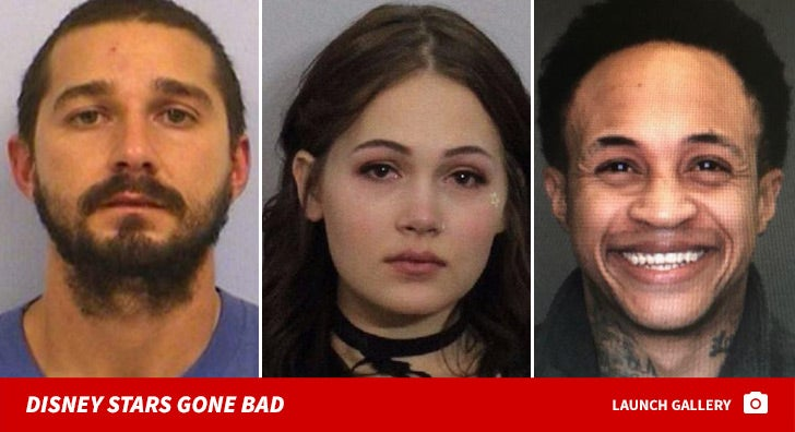 Disney Stars Gone Bad