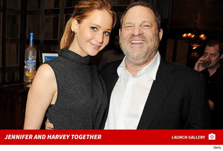 Jennifer Lawrence and Harvey Weinstein Together