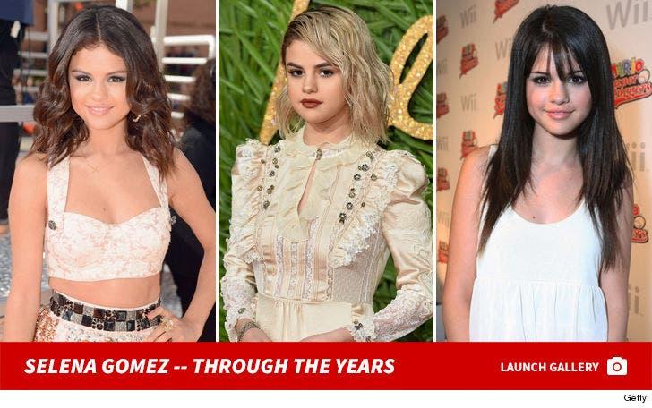 Selena Gomez -- Through the Years