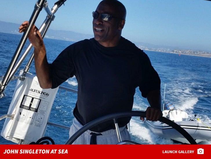 John Singleton at Sea