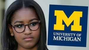 Sasha Obama Not Rushing Sorority at University of Michigan