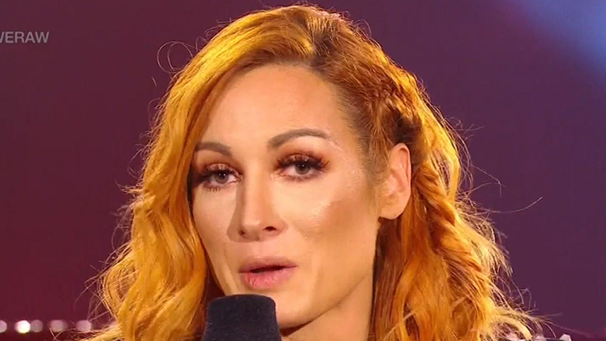 WWE Superstar Becky Lynch Announces Pregnancy On Monday Night Raw