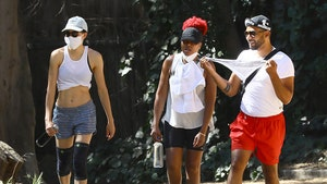 Jussie Smollett and 'Empire' Costar Taraji P. Henson Take a Hike