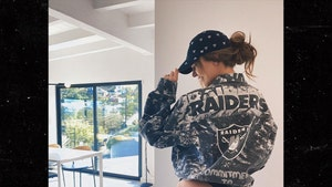 Model Josephine Skriver's Raiders Outfit, Commitment to Assellence