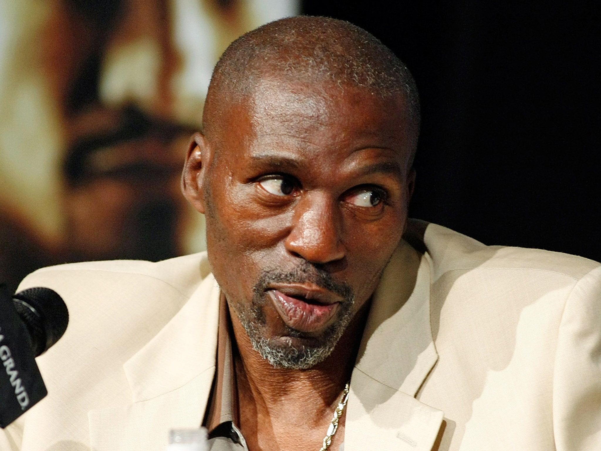Uncle Roger Mayweather ...
