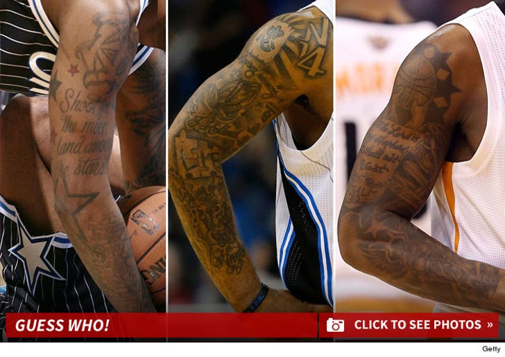 NBA Ink -- Guess Who!