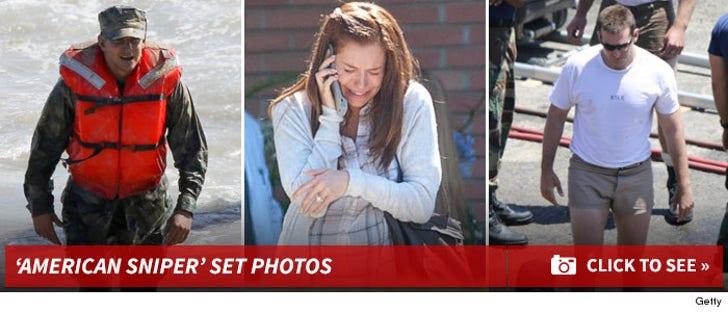 'American Sniper' Set Photos