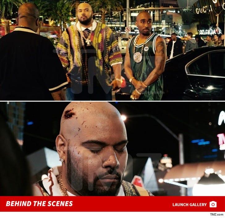 Tupac Movie -- Behind the Scenes Photos