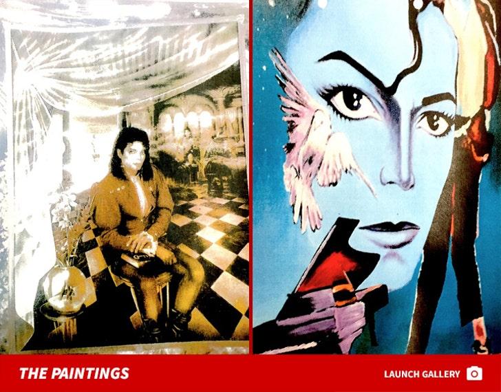 Jermaine Jackson's Michael Jackson Paintings