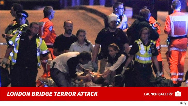 London Bridge Terrorist Attack -- The Terrifying Scene