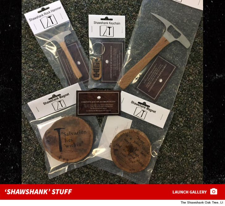 'The Shawshank Redemption' Merchandise -- For $ale!