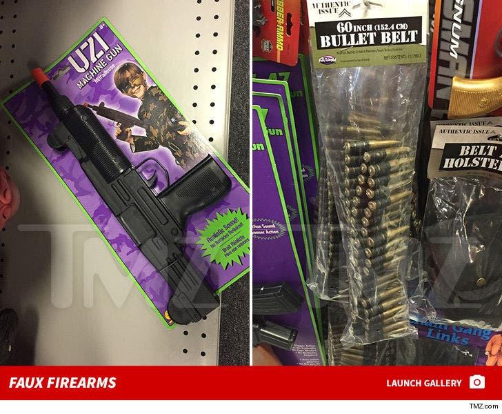 Toy Guns in Las Vegas