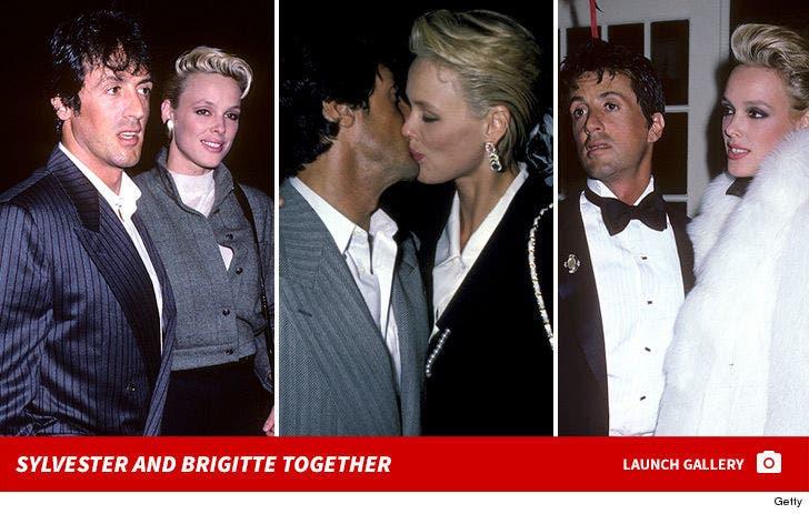 Sylvester Stallone and Brigitte Nielsen Together