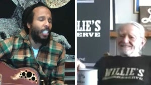 Willie Nelson Serenaded By Ziggy Marley During 4/20 Live Stream
