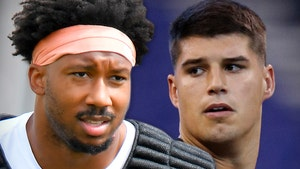 Myles Garrett Extends Olive Branch To Mason Rudolph, Down For Man-To-Man Talk
