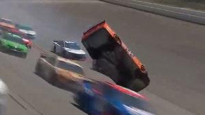 NASCAR's Joey Logano 'Happy I'm Alive' After Horrific Crash At Talladega