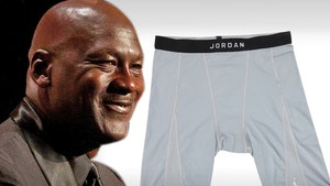 Michael Jordan's Worn Undies Showing 'Definite Use' Sell For Almost $3K!