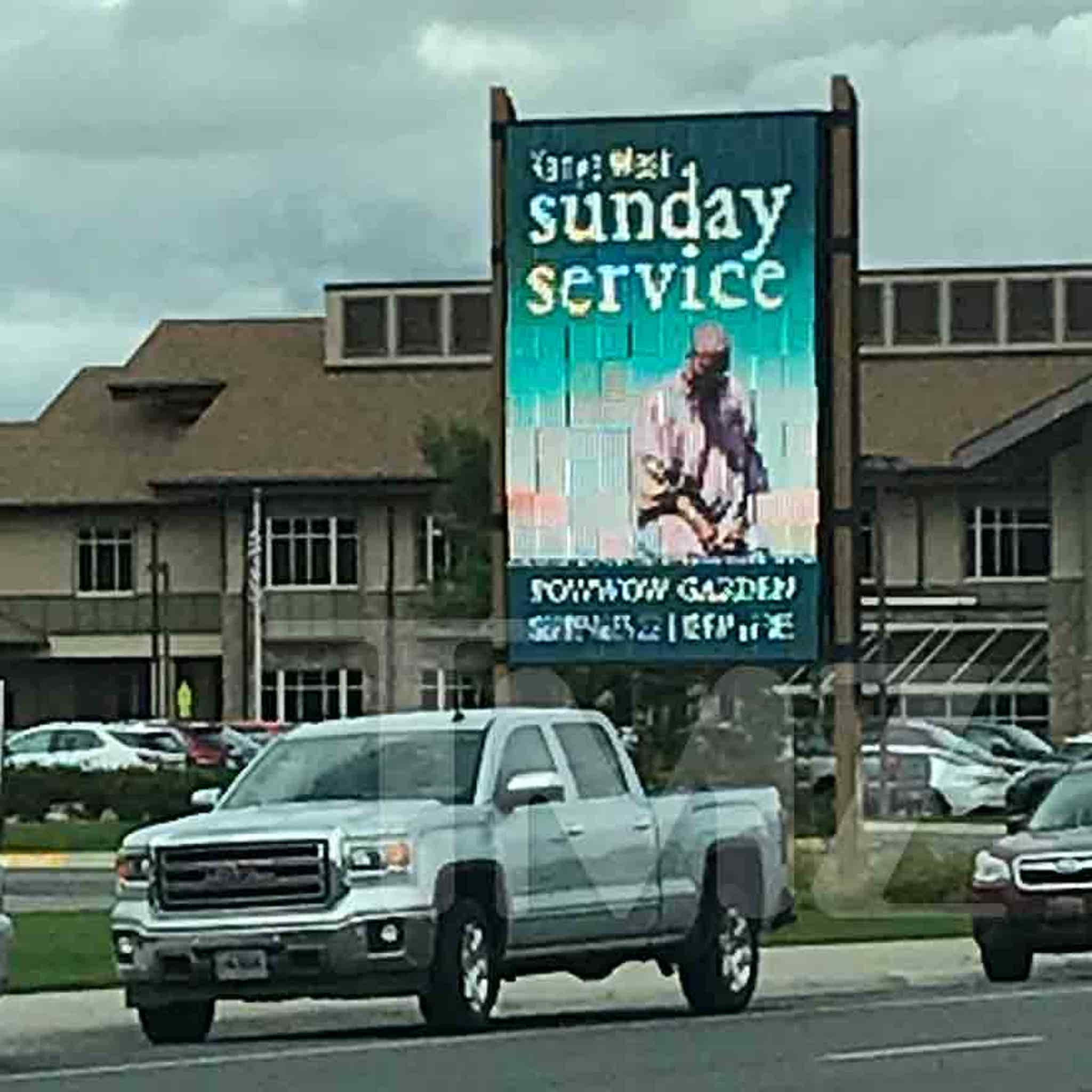 Kanye West Making a Splash in Wyoming With Very Public Sunday Service