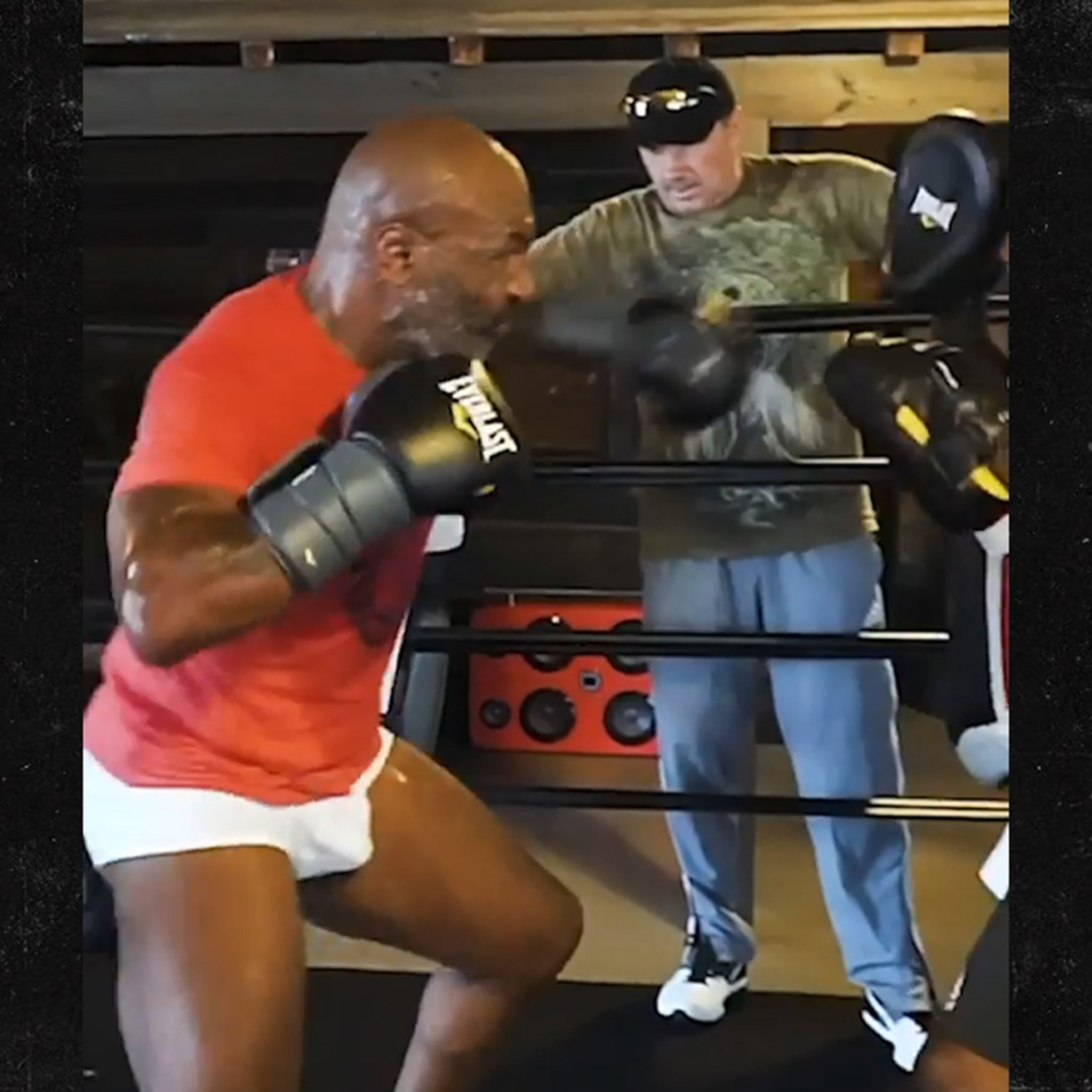 Mike Tyson Drops Scary New Boxing Training Video Bob Weave Destroy