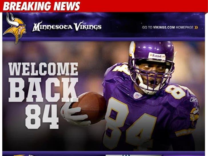 online retailer 0696b f1c7a Randy Moss Trade -- Minnesota Vikings Already Selling Moss ...