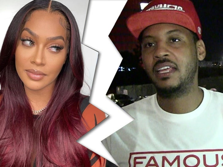 lala and carmelo anthony split up