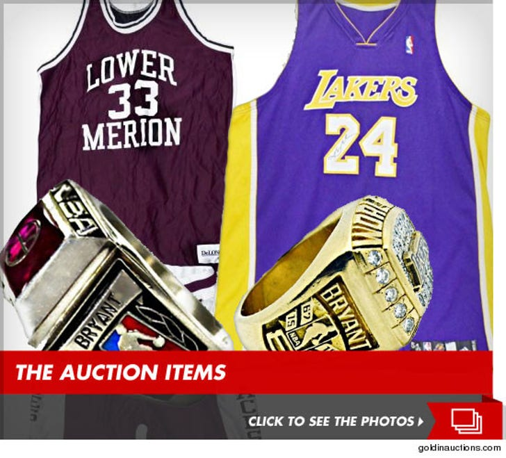 Kobe Bryant Auction -- The Final Selling Price