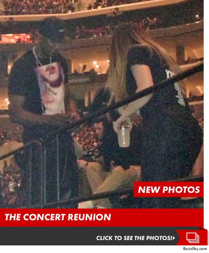 Lamar and Khloe -- The Concert Reunion Photos