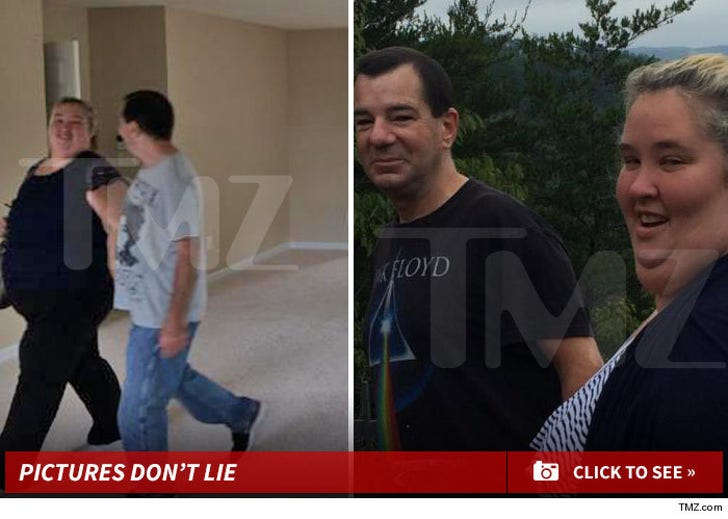 Mama June and Mark McDaniel -- Together Photos
