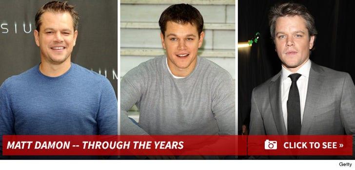 Matt Damon -- Through the Years