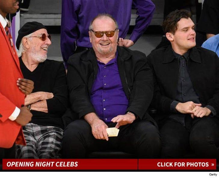 Lakers Opening Night Stars
