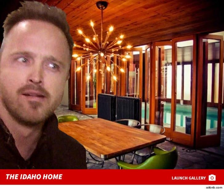 Aaron Paul's Idaho Airbnb